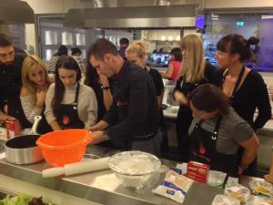 TEAM BUILDINGcooking workshop